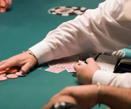 world series of poker table