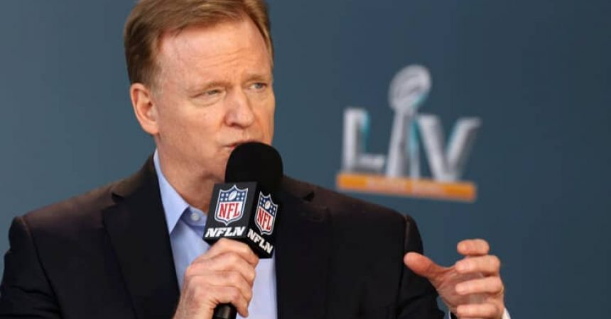 roger goodell microphone