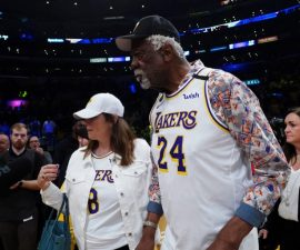 bill russell courtside